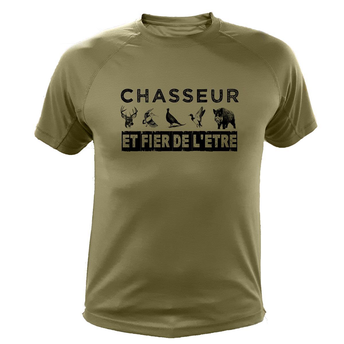 Chasse Fier Chasseur Et Traqueur Shirt Tee L'être De XZuPOik