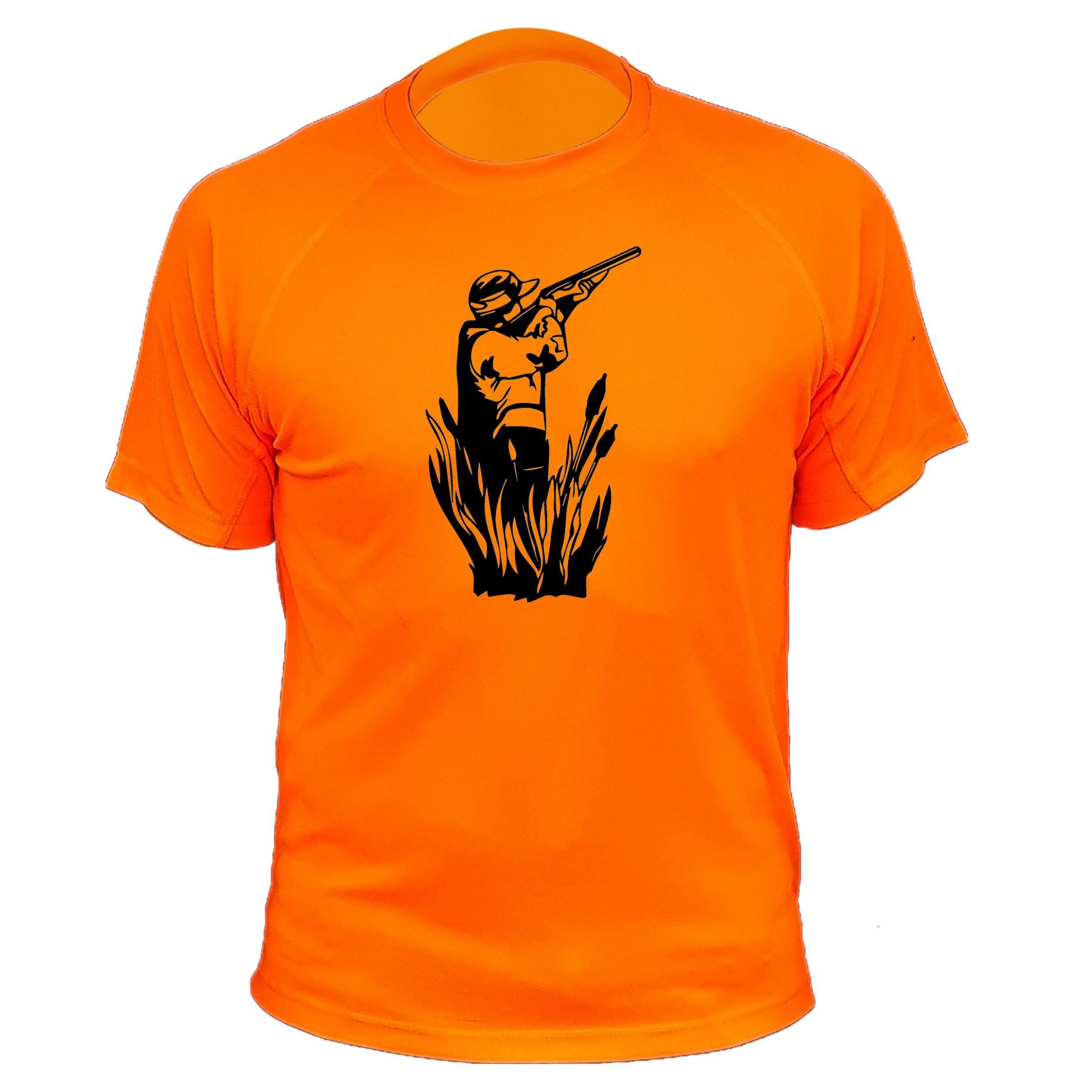 Tee shirt de chasse visuel du chasseur qui