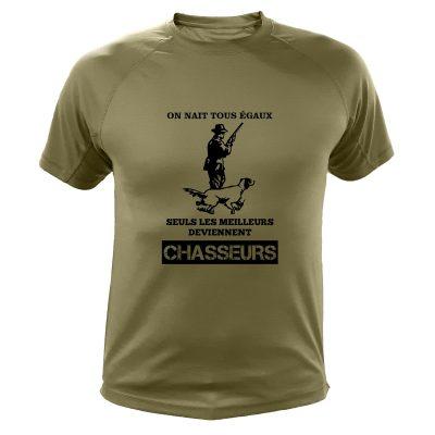 t-shirt idée cadeau de noël pour un chasseur
