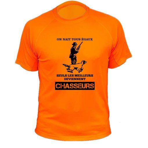 habit de chasse orange fluo cadeau humoristique
