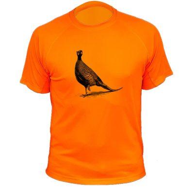 idée cadeau pour chasseur t-shirt orange fluo