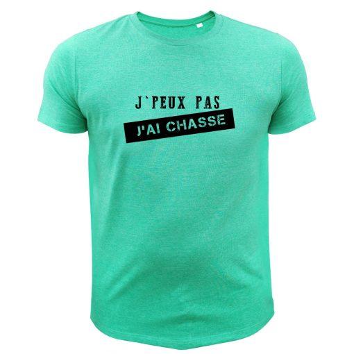 cadeau anniversaire pour homme chasseur tee-shirt vert