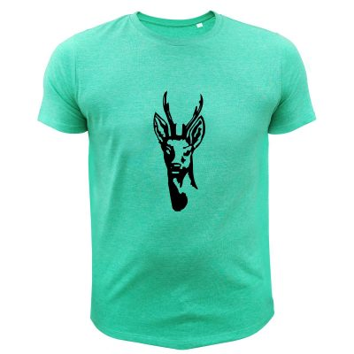 cadeau de noël original pour chasseur, t-shirt vert