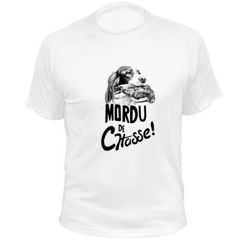 boutique de chasse, t-shirt original blanc