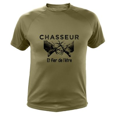 tee-shirt chasse humoristique