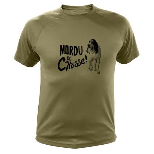 vêtement de chasse humoristique, t-shirt kaki