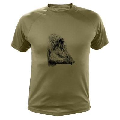 cadeau anniversaire chasseur, t-shirt