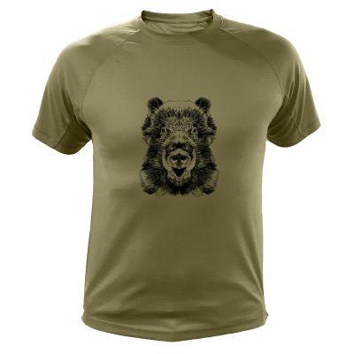 t-shirt de chasse, cadeau original, sanglier