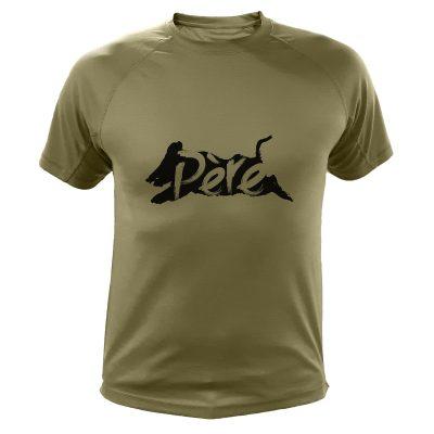 t-shirt de chasse sanglier cadeau fete des peres