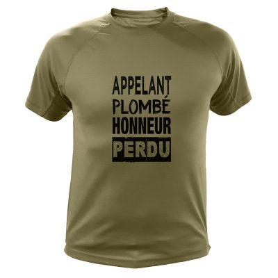 t-shirt de chasse, cadeau anniversaire, gabion
