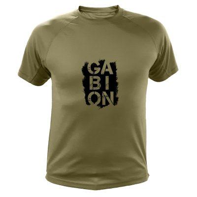 idée cadeau Noêl pour chasseur, tee-shirt gabion