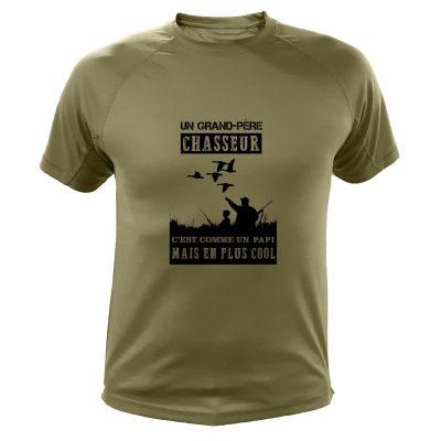 t-shirt de chasse, cadeau anniversaire, papi