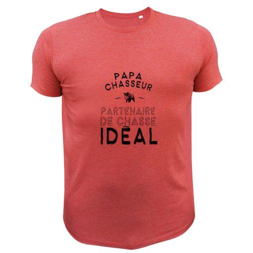 Cadeau Noël pour chasseur, t-shirt rouge