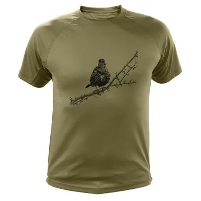 t-shirt de chasse grive cadeau anniversaire chasseur