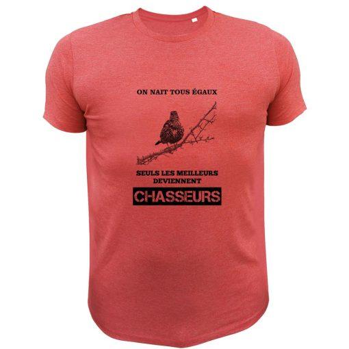 t-shirt de chasse grive idée cadeau