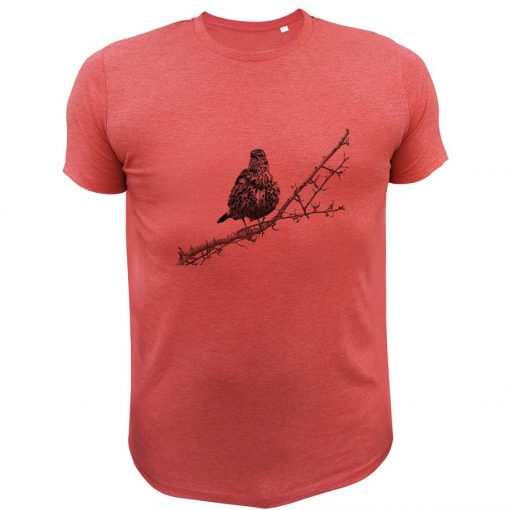 t-shirt de chasse grive cadeau