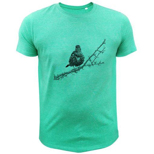 t-shirt de chasse grive cadeau noel