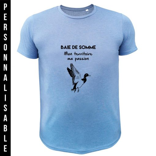 teeshirt-chasse-PERSONNALISE-CANARD-MIGRATEUR