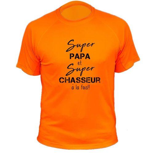 tee-shirt-fluo-orange-chasse-papa-chasseur