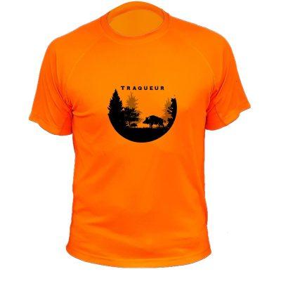 tee-shirt-traque-orange-fluo-grand-gibier