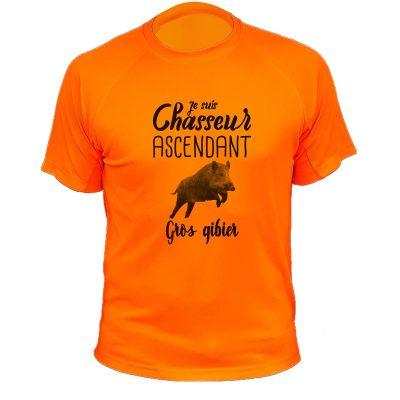 tee-shirt-orange-fluo-gros-gibier-sanglier
