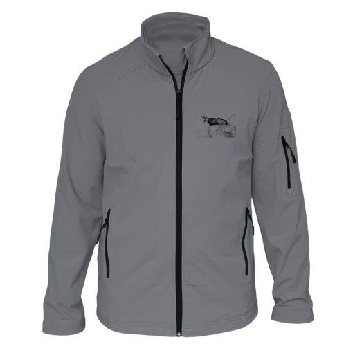 veste de chasse grise chamois