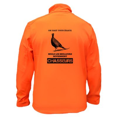 veste-chasse-orange-fluo-faisan