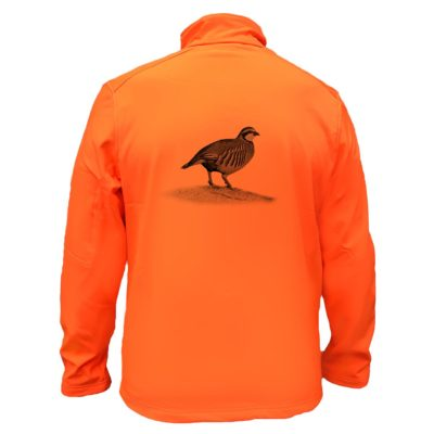 veste-chasse-fluo-impermeable-softshell-perdrix