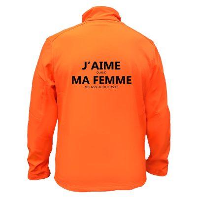 veste-chasse-orange-humour