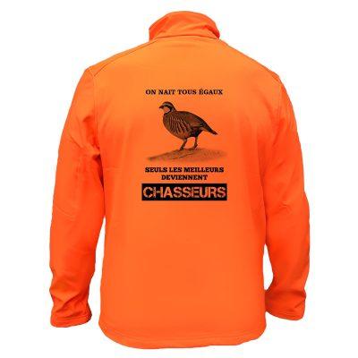 veste-chasse-orange-petit-gibier