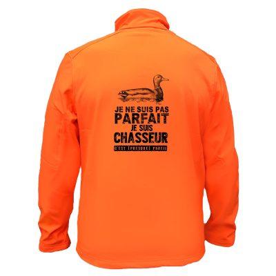 veste-chasse-orange-fluo-canard