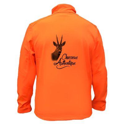 veste-de-chasse-orange-pas-cher