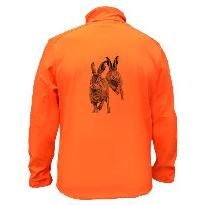 veste-chasse-orange-lapin