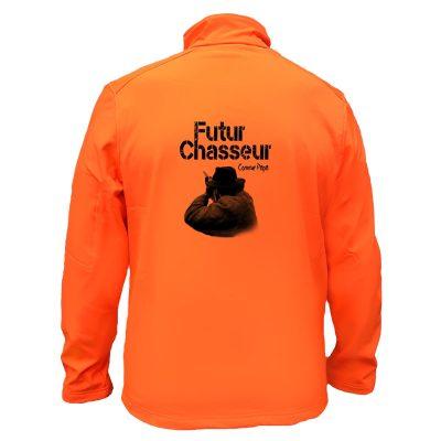 veste-de-chasse-enfant-orange