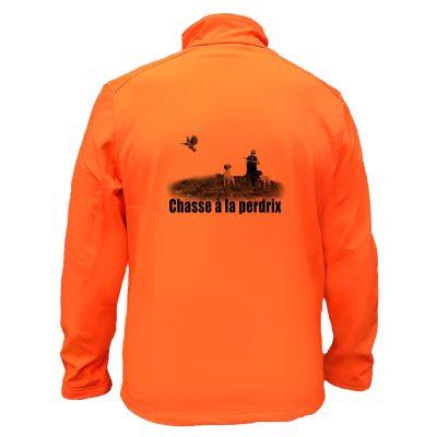 veste-chasse-petit-gibier-orange