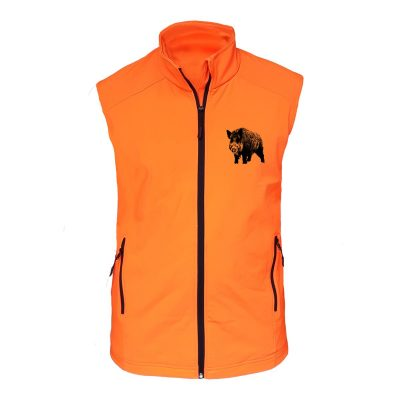 veste-traque-chasse-sanglier-orange-devant