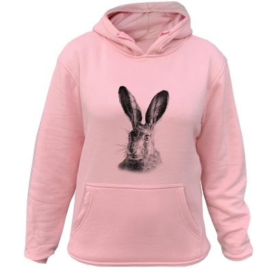 sweat de chasse femme lapin