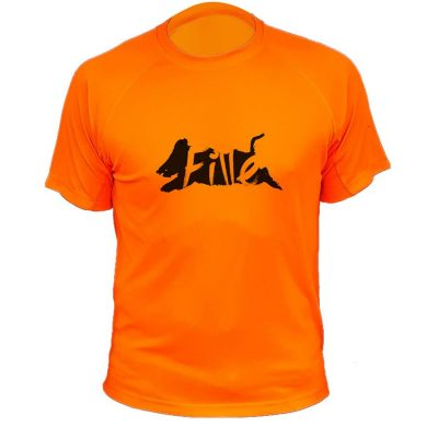 tshirt chasse sanglier fille