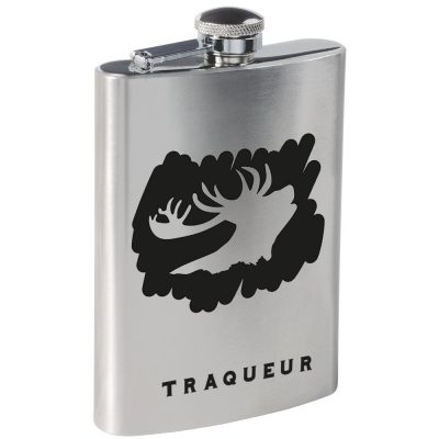 flasque alcool cadeau chasseur cerf