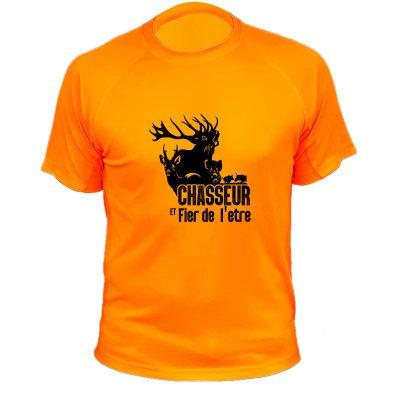 Teeshirt pour chasseur - chasseur et fier de l'être