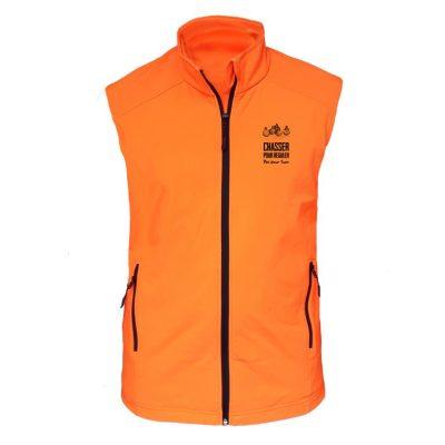veste softshell sans manche - chasser pour réguler pas pour tuer