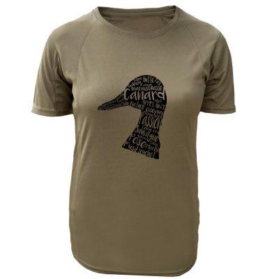 tshirt-chasseresse-canard