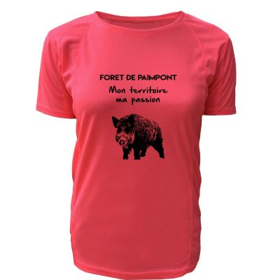 tshirt-chasseresse-mon-territoire-ma-passion-sanglier